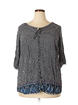 Avenue 3/4 Sleeve Blouse Size 18 - 20 Plus (Plus)