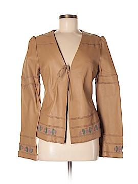 Odille Leather Jacket Size 8