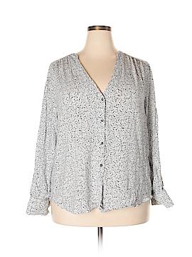 H&M Long Sleeve Blouse Size 22 (Plus)