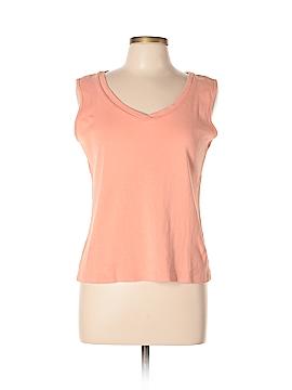 LARRY LEVINE for Dressbarn Sleeveless T-Shirt Size L