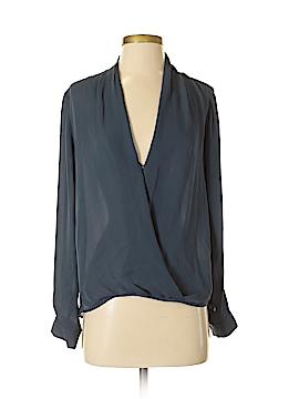 Mason Long Sleeve Silk Top Size 2
