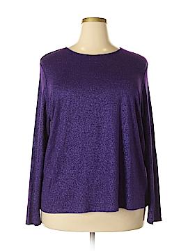 Susan Bristol Long Sleeve Top Size 2W Plus (Plus)