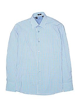 Ragazzo Uomo Long Sleeve Button-Down Shirt Size 12R