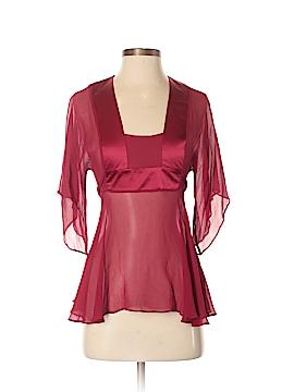 Arden B. 3/4 Sleeve Silk Top Size S