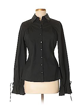 Essendi Long Sleeve Button-Down Shirt Size 8