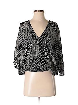 AaKaa 3/4 Sleeve Blouse Size S