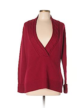 Eddie Bauer Wool Pullover Sweater Size L