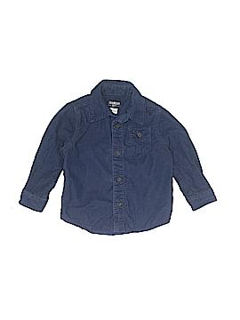 OshKosh B'gosh Long Sleeve Button-Down Shirt Size 24 mo