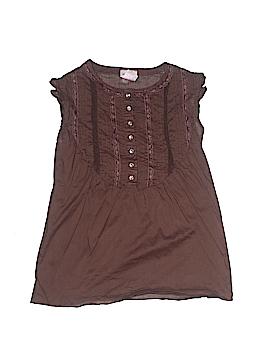 Xhilaration Short Sleeve Button-Down Shirt Size M (Kids)