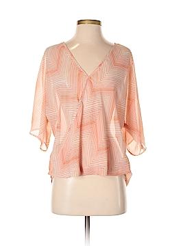 WAYF Short Sleeve Blouse Size S