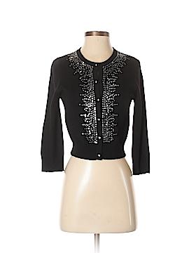 Aqua Silk Cardigan Size S