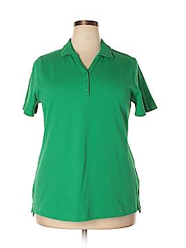 Croft & Barrow Short Sleeve Polo Size 1X (Plus)