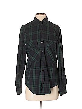 Leara Woman Long Sleeve Button-Down Shirt Size S