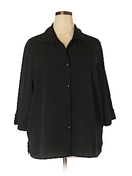 Apparenza 3/4 Sleeve Blouse Size 3X (Plus)