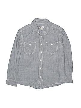 Cherokee Long Sleeve Button-Down Shirt Size 8/10