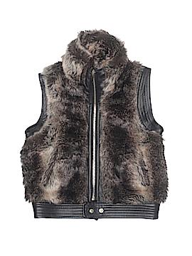 Sugarfly Faux Fur Vest Size 5