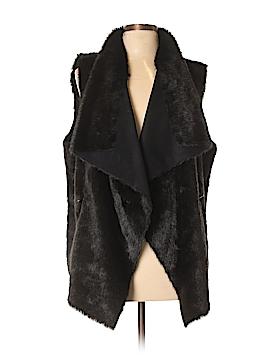 Kenneth Cole New York Faux Fur Vest Size XL