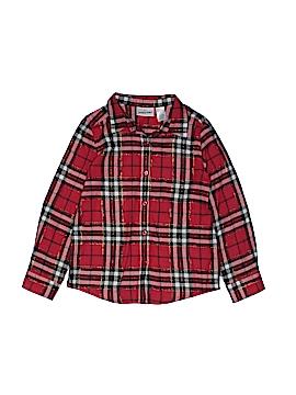 Jumping Beans Long Sleeve Button-Down Shirt Size 6