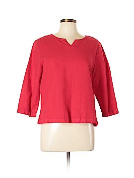 Hot Cotton 3/4 Sleeve Blouse Size M