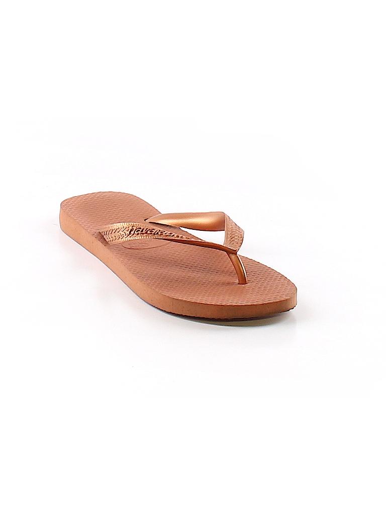 51f1afee3 Havaianas Solid Orange Flip Flops Size 4 - 5 - 94% off