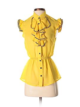 Idea Short Sleeve Silk Top Size S
