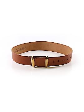 Donna Karan New York Leather Belt Size M