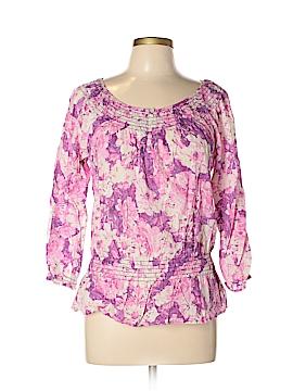 IZOD 3/4 Sleeve Blouse Size M