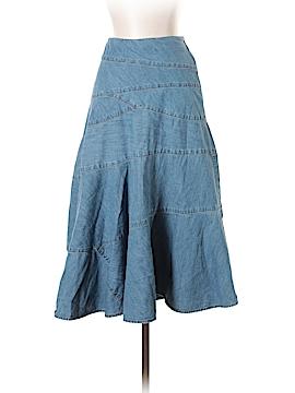 Lauren by Ralph Lauren Denim Skirt Size 2 (Petite)