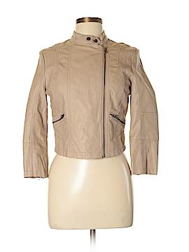 LC Lauren Conrad Faux Leather Jacket Size S