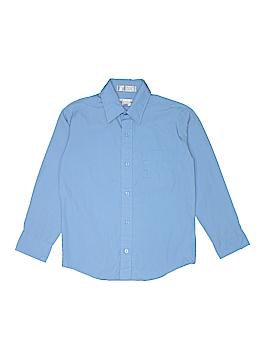 Van Heusen Long Sleeve Button-Down Shirt Size 10