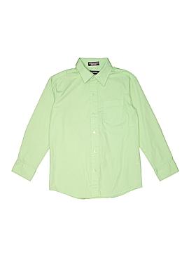 Dockers Long Sleeve Button-Down Shirt Size 10
