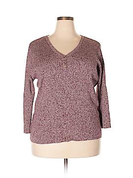 Jones New York Signature Pullover Sweater Size 2X (Plus)