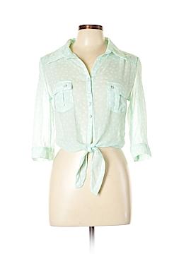 Bongo 3/4 Sleeve Blouse Size L