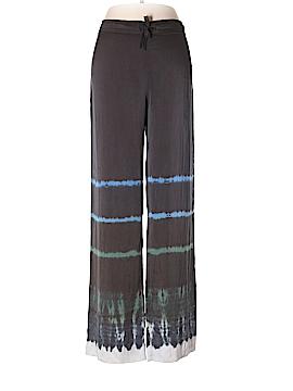Raquel Allegra Silk Pants Size Sm (1)