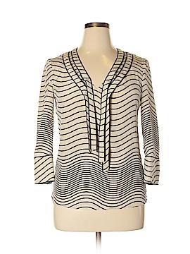 Torrid 3/4 Sleeve Silk Top Size 10 (Plus)