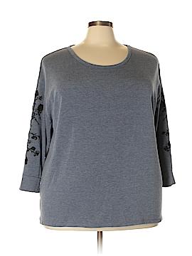 Simply Vera Vera Wang Pullover Sweater Size 2X (Plus)