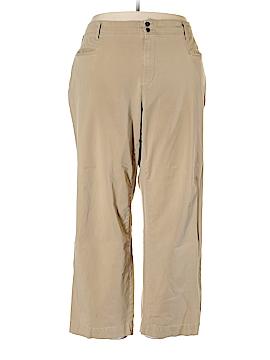 Caribbean Joe Khakis Size 24w (Plus)