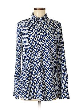 Merona Long Sleeve Button-Down Shirt Size M