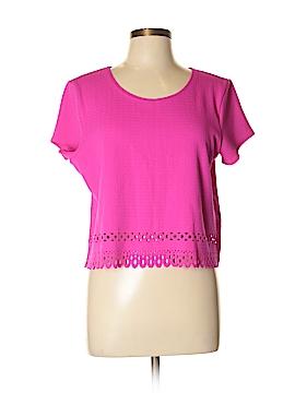 Gianni Bini Short Sleeve Top Size L