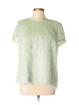 Ann Taylor Short Sleeve Blouse Size 12