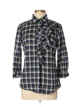 Torrid Long Sleeve Button-Down Shirt Size 10 (Plus)