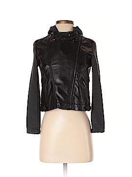 Design History Faux Leather Jacket Size L