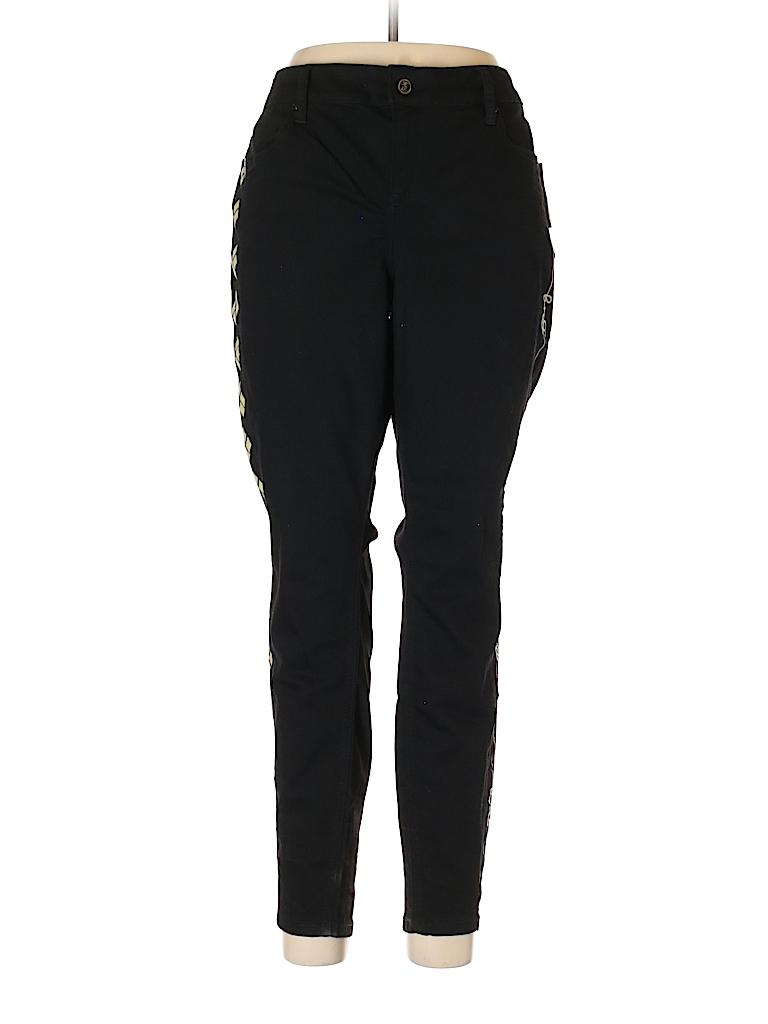 d3d9c62af51 Torrid Solid Black Jeans Size 16 (Plus) - 69% off