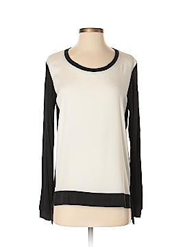 Drew Long Sleeve Silk Top Size S