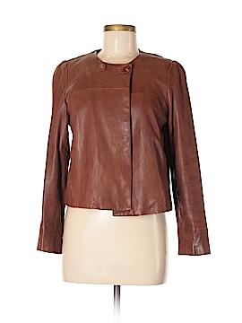 Banana Republic Leather Jacket Size M (Petite)