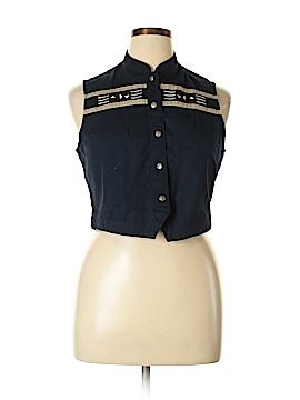 Wrangler Jeans Co Tuxedo Vest Size XL