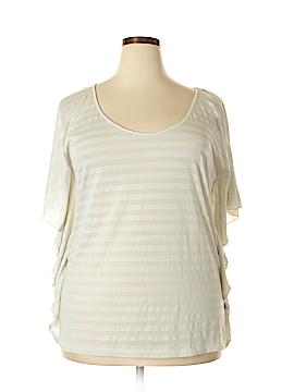 Kardashian Kollection Short Sleeve Top Size XL