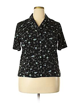 Sag Harbor Short Sleeve Blouse Size 16