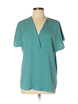 14th & Union Short Sleeve Blouse Size XL