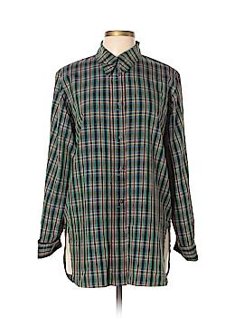 Jil Sander Long Sleeve Silk Top Size 42 (IT)